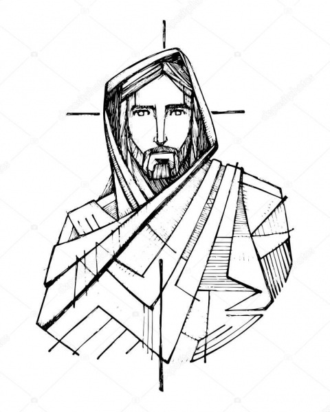 Resultado De Imagem Para Drawing Cartoon Of Jesus