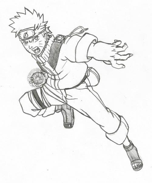 Como Desenhar Naruto