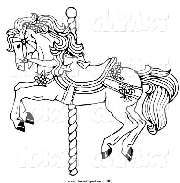 Carousel Horse Clip Art