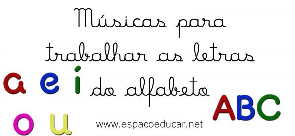 Atividades Com Músicas Do Alfabeto!