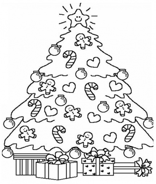 Imagens De Arvore De Natal Para Imprimir