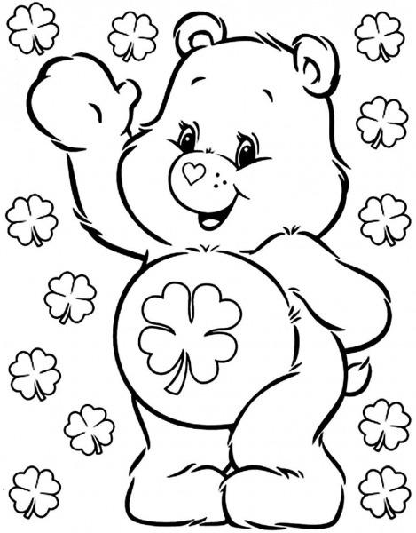 Desenhos Dos Ursinhos Carinhosos Para Colorir