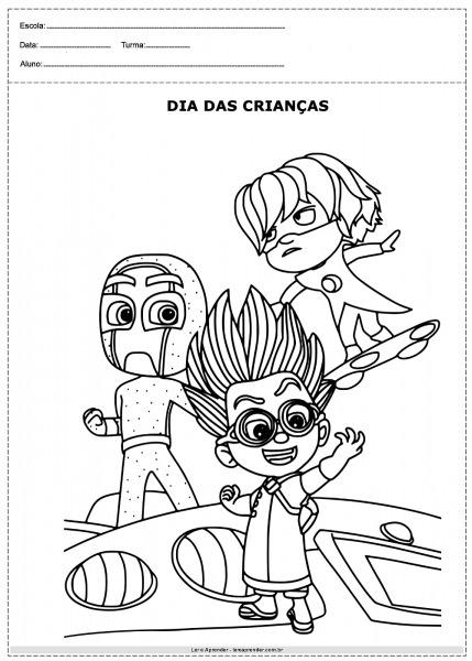 Desenhos Dia Das Crianças