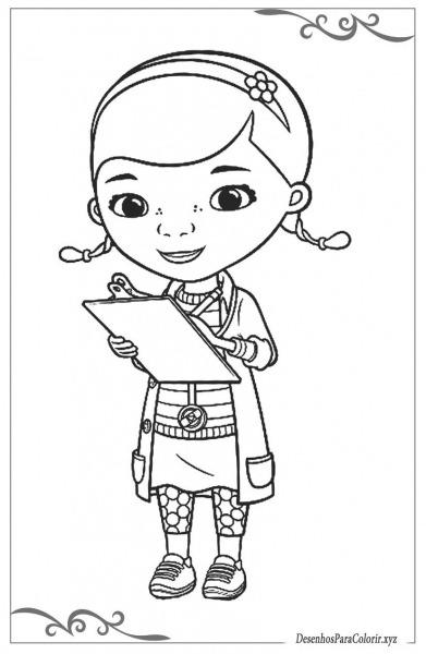 Doutora Brinquedos Desenhos Para Colorir Grátis