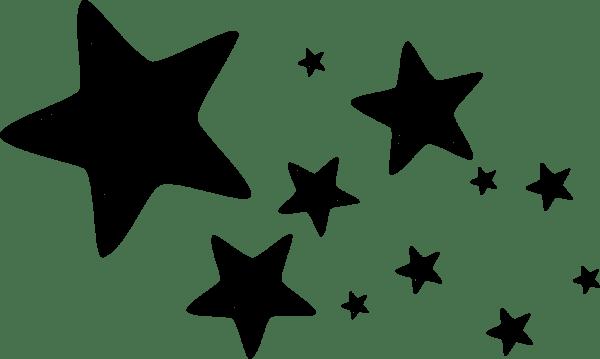 Estrelas Para Colorir Png 2 » Png Image