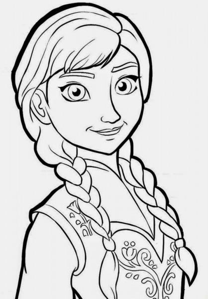 Desenhos Para Desenhar Do Frozen