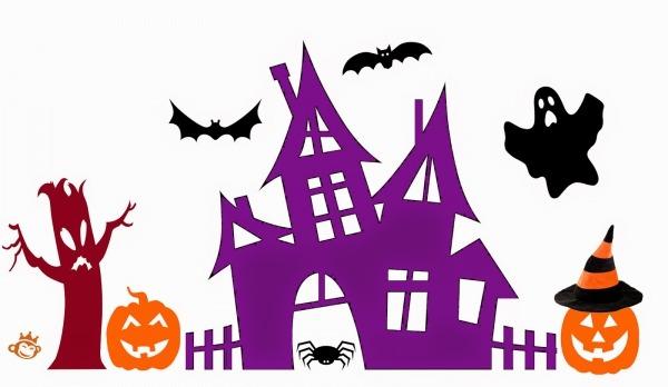 Recetas Originales  Figuras Recortables Para Decorar En Halloween
