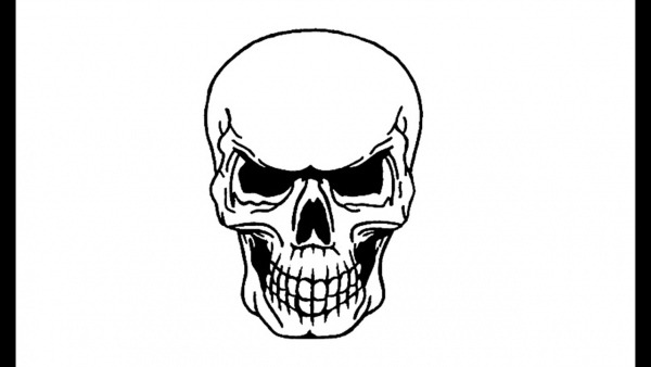 How To Draw A Skull (skeleton)