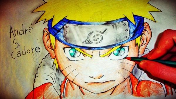 Como Desenhar Naruto Uzumaki [naruto Classic]