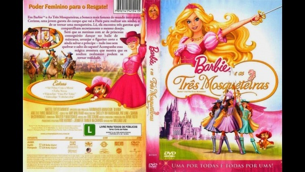 Barbie E As Tres Mosqueteiras