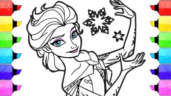 Desenhos Como Desenhar Desenhos Para Colorir Elsa Frozen Desenhos