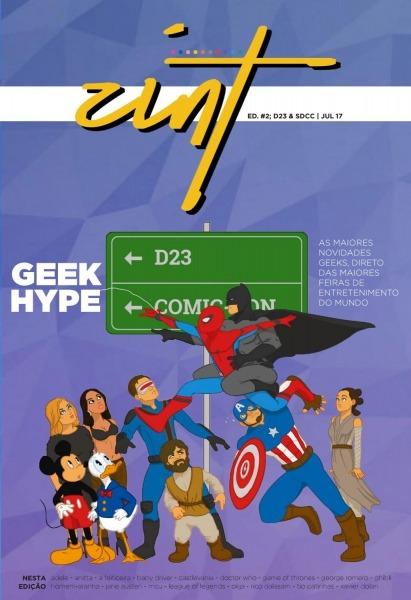 Zint ⋅ Edição  2  D23 & Sdcc By Zint