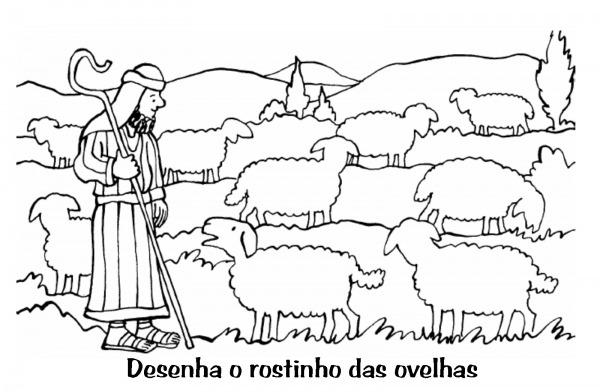 Evangeliza!  Desenhos De Ovelhas Para Colorir Pascoa, Pascoa Para