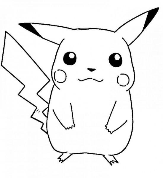 Desenho Do Pikachu – Desenhos Para Colorir
