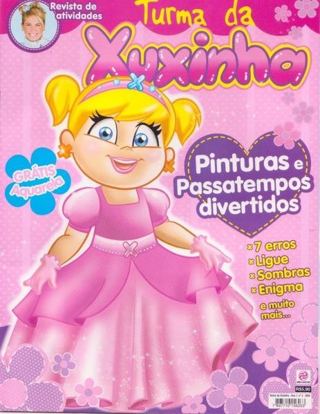Mundo Da Xuxa  Revista De Atividades Turma Da Xuxinha Ed