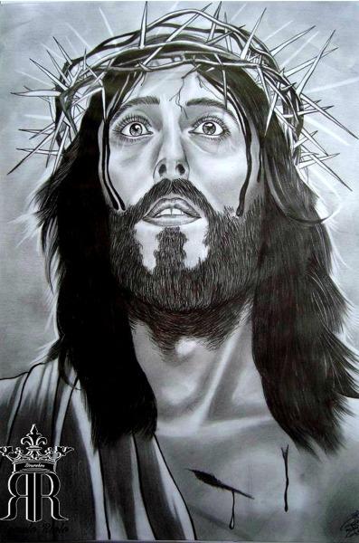 Rômulo Riolo — Desenhos Jesus Cristo  Então Jesus Tornou A