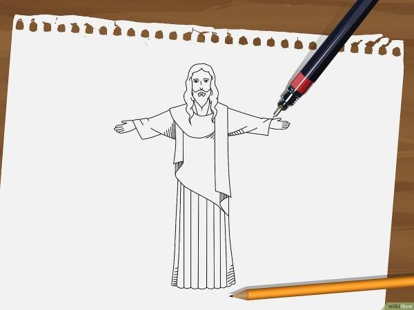 Como Desenhar Jesus  9 Passos (com Imagens)