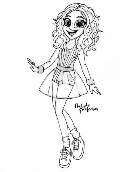 Me Encanta Esté Outfit De @karolsevillaofc Como Luna Valente