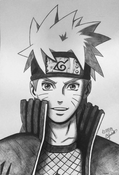 Como Desenhar O Naruto Passo A Passo