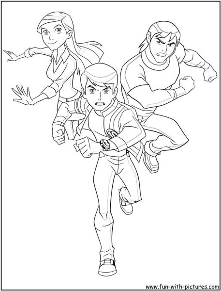 Free Ben 10 Ultimate Alien Coloring Pages, Download Free Clip Art