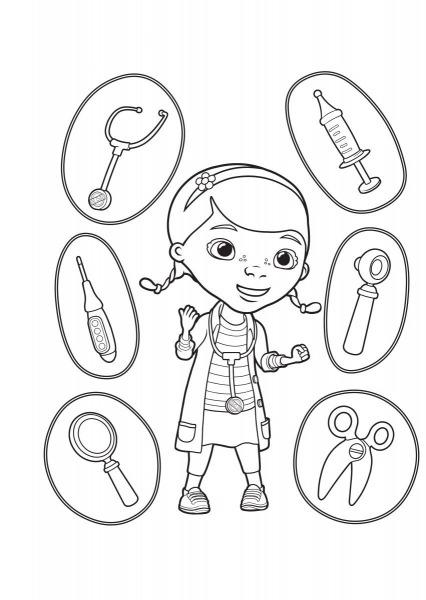 Doutora Brinquedos Desenhos Para Pintar, Colorir, Imprimir