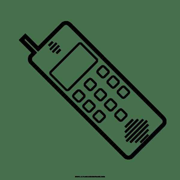 Telefone Desenho Para Colorir