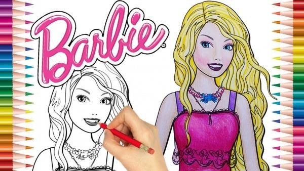Desenho Da Barbie Para Pintar , Desenhos Para Imprimir E Pintar
