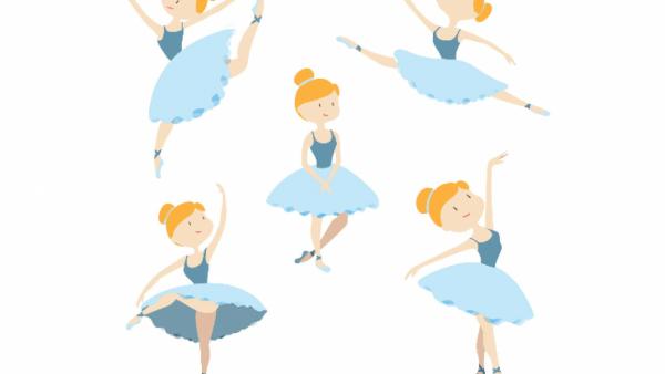 Molde De Bailarina Para Imprimir  14 Modelos Grátis